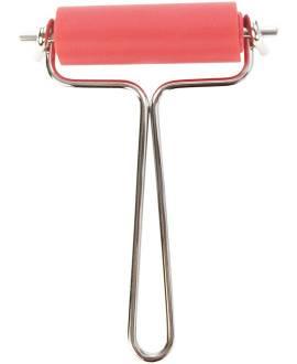 Linolwalze, Ø 2 cm, Breite 6 cm, Metallbügel - Bild vergrößern