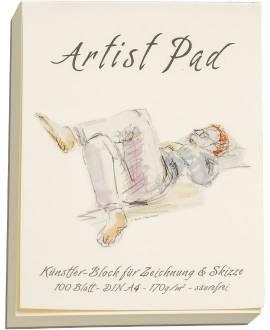 Artist Pad, A4, 170 g/m² - Bild vergrößern