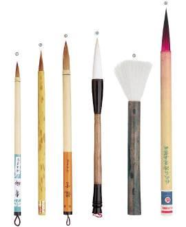 China Pinsel - Bild vergrößern