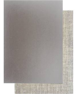 Linolplatte, A4 (21 x 30 cm), uni grau - Bild vergrößern