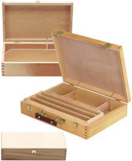 Material-Holzkasten - Bild vergrößern