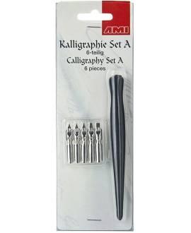 Einsteiger-Kalligrafie-Set A - Bild vergrößern