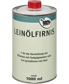 Leinölfirnis, 1 Liter - Bild vergrößern