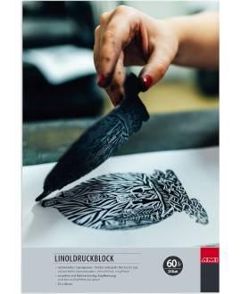 Linolblock, 31 x 46 cm, 20 Blatt - Bild vergrößern