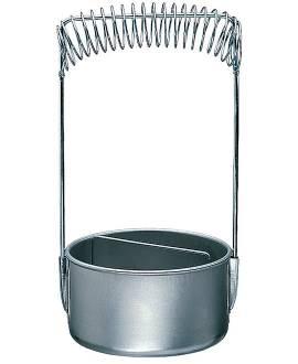 Pinselwascher mit Sieb - Bild vergrößern