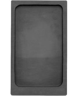 Chinesischer Reibestein, rechteckig, 13,5 x7,5 cm - Bild vergrößern