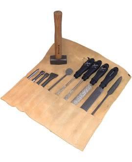 Werkzeug-Set für harten Stein - Bild vergrößern