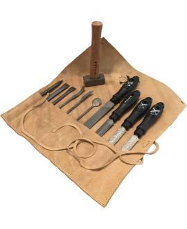Werkzeug-Set für mittelharten Stein - Bild vergrößern
