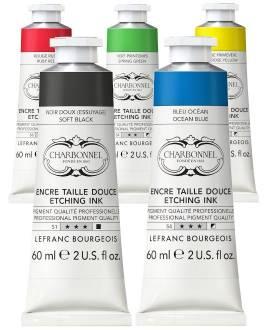 Charbonnel Kupfertiefdruckfarben, 60 ml - Bild vergrößern