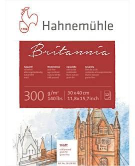 Hahnemühle - Britannia - Aquarellblock, 30 x 40 cm - Bild vergrößern