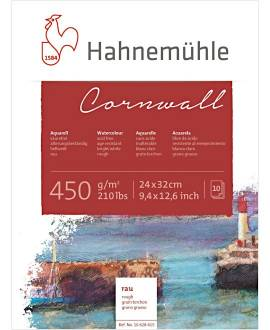 Hahnemühle - Cornwall - Aquarellblock, 30 x 40 cm - Bild vergrößern