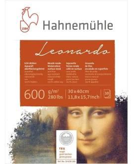 Hahnemühle - Leonardo - Bütten-Aquarellblock, 36 x 48 cm - Bild vergrößern