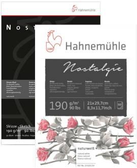 Hahnemühle - Nostalgie - Skizzenblock, 190 g/m² - Bild vergrößern