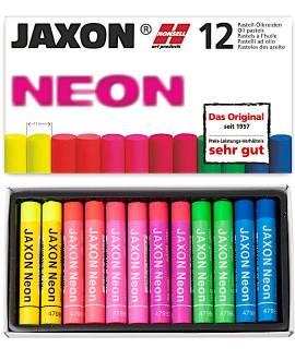 Öl-Pastellkreiden Neon, 12er-Sortiment - Bild vergrößern