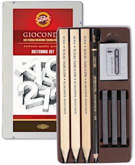 GIOCONDA Sketching- Set 8892 - Bild vergrößern