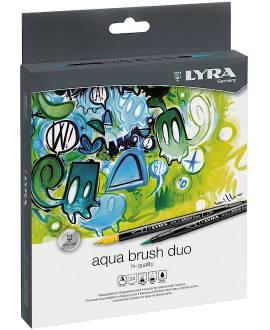 Aqua Brush Duo - 24 Pinselmaler - Bild vergrößern