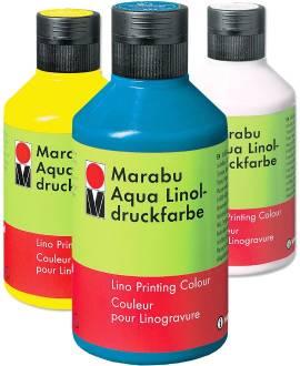 MARABU Aqua-Linoldruckfarbe, 250 ml - Bild vergrößern