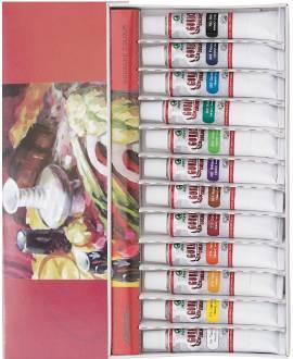 Marie's Gouache-Farben, 12 Tuben á 12 ml - Bild vergrößern
