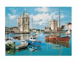 Hafen La Rochelle, 30 x 40 cm - Bild vergrößern