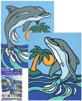 Delphin 2er-Set - Bild vergrößern