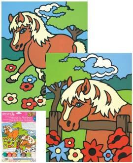 Pferd 2er-Set - Bild vergrößern