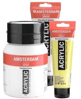 AMSTERDAM - Acrylfarbe - Bild vergrößern