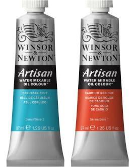 Winsor & Newton Artisan wassermischbare Ölfarbe, 37 ml Tube - Bild vergrößern