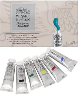 Winsor & Newton Designers Gouache, Primärfarben-Set - Bild vergrößern