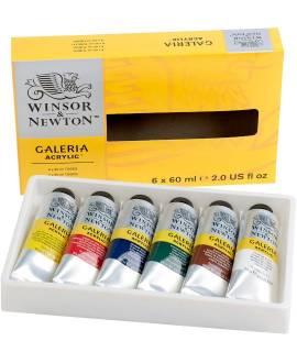 GALERIA Acrylic Colour, Set 6 Tuben á 60 ml - Bild vergrößern