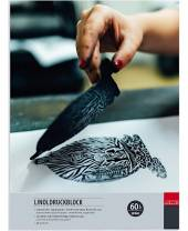 Linolblock, 23 x 31 cm, 20 Blatt