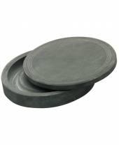 Chinesischer Reibestein, rund mit Deckel, 125 mm
