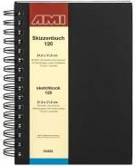 Spiral-Zeichenbuch 120 g/m², 31 x 21,8 cm