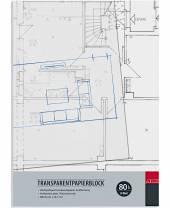 Transparentpapierblock DIN A4