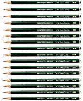 Faber-Castell -  9000 Bleistift, 12 Stück
