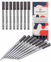 Graphmaster Pigment Liner, 8er-Set