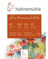 Hahnemühle - Echt Bütten - Aquarellkarton, 30 x 40 cm