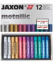 Öl-Pastellkreiden Metallic, 12er-Sortiment