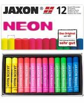 Öl-Pastellkreiden Neon, 12er-Sortiment