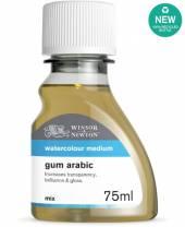 Winsor & Newton, GUMMI ARABICUM, 75 ml Flasche