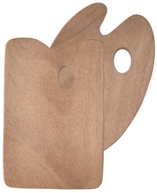 Mischpalette aus Holz