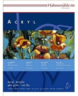 Hahnemühle Acryl-Malblock, 360 g/m²