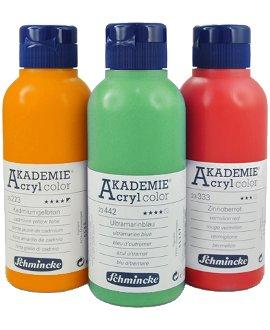 Schmincke Akademie Acrylcolor, 250 ml Spritzflasche